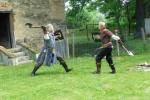 2. Ukázka středověkého souboje