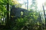 9. Hradní ruiny